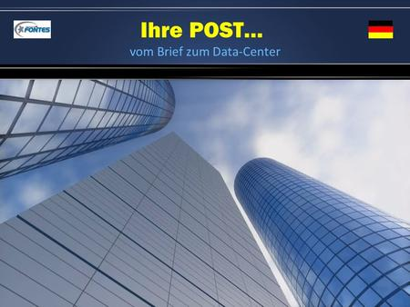 vom Brief zum Data-Center