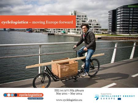 cyclelogistics – moving Europe forward