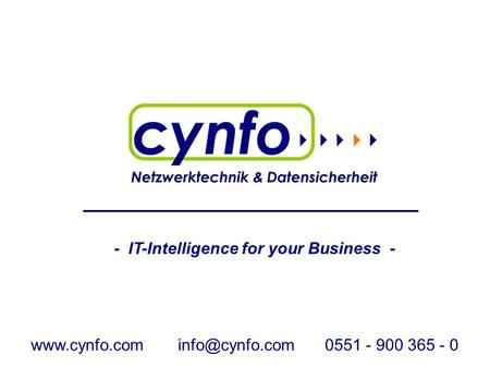 - IT-Intelligence for your Business - - 900 365 - 0.