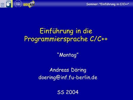 leichte programmiersprache anfänger
