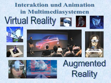 Interaktion und Animation in Multimediasystemen
