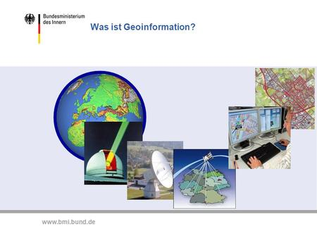 Was ist Geoinformation?