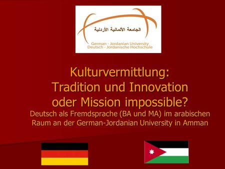 Kulturvermittlung: Tradition und Innovation oder Mission impossible