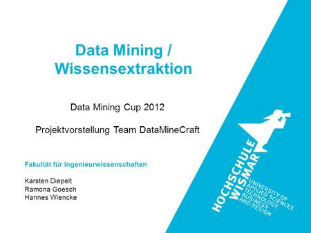 Data Mining / Wissensextraktion