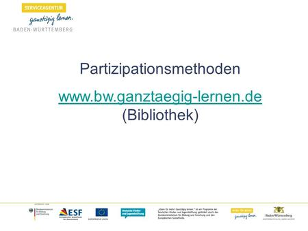 Partizipationsmethoden  (Bibliothek)