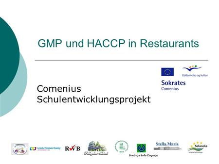 GMP und HACCP in Restaurants
