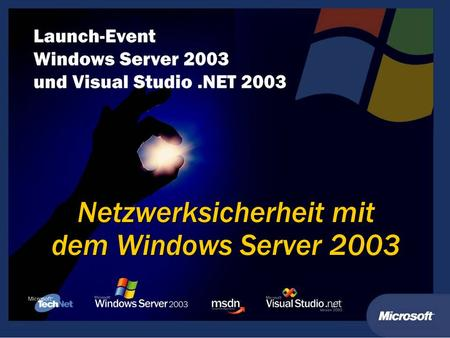 Netzwerksicherheit mit dem Windows Server 2003. Kai Wilke (MVP) Consultant für IT - Security ITaCS GmbH Tech Level: 300.