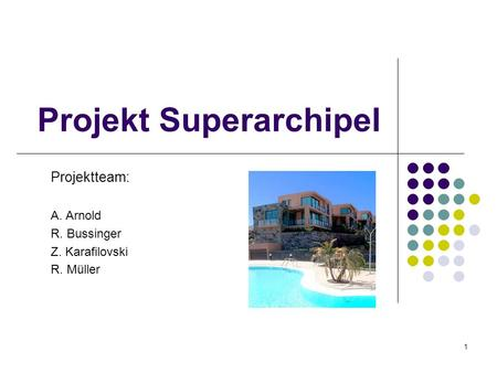 Projekt Superarchipel