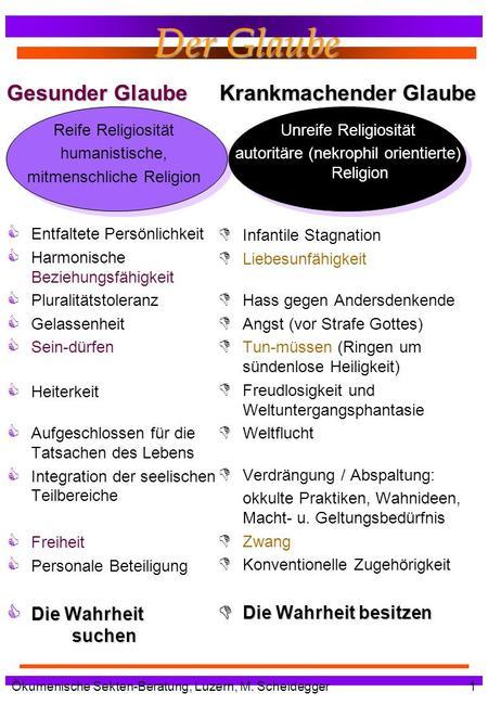 okkulte praktiken im christentum