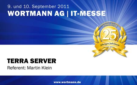 TERRA SERVER Referent: Martin Klein 1 1.