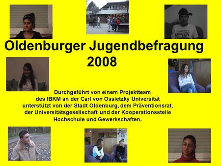Oldenburger Jugendbefragung 2008