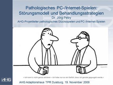 pathologisches spielen therapie