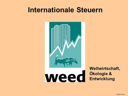Internationale Steuern