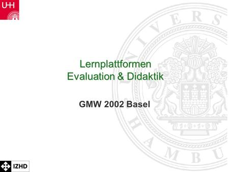 Lernplattformen Evaluation & Didaktik