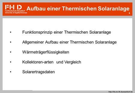 startseite unterrichtsgang funktionsweise eines solarkollektors ppt herunterladen. Black Bedroom Furniture Sets. Home Design Ideas