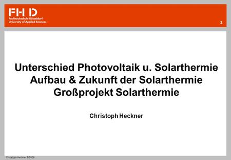 Unterschied Photovoltaik u