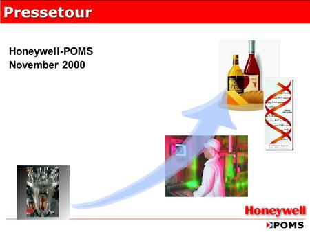 Honeywell-POMS November 2000 Pressetour. November 2000 Seite 2 Agenda   Business Trends in den Regulated Industries   Unified Manufacturing  Überblick.