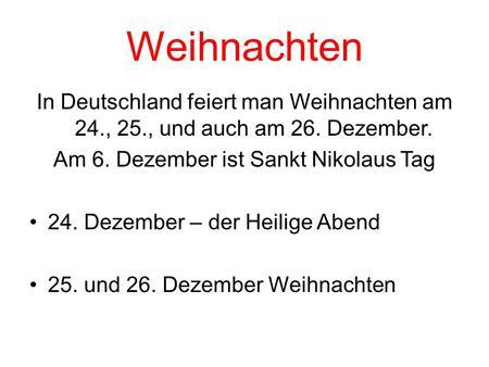 Weihnachtszeit und Advent im Deutschland - ppt video online ...