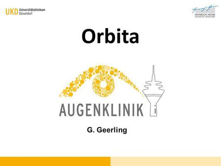 Orbita G. Geerling.