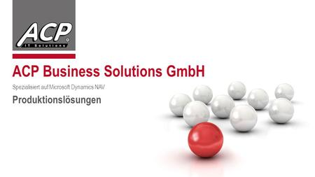 ACP Business Solutions GmbH