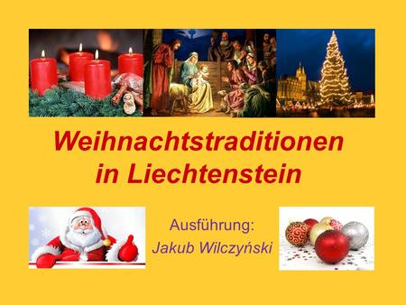 Weihnachtstraditionen in Liechtenstein