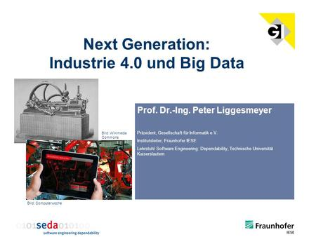 Next Generation: Industrie 4.0 und Big Data