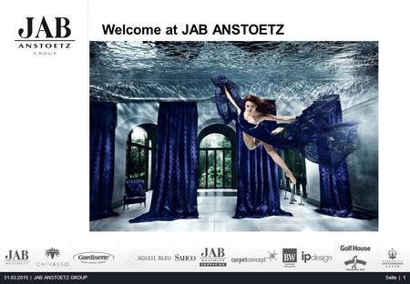 Welcome at JAB ANSTOETZ