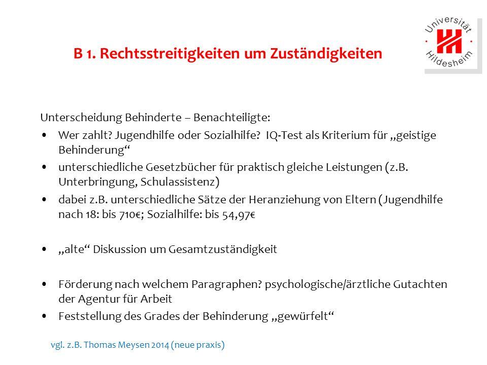 B 2.Anstieg von Schulassistenzen Quelle und Grafik: Rüdiger Kißgen u.a.