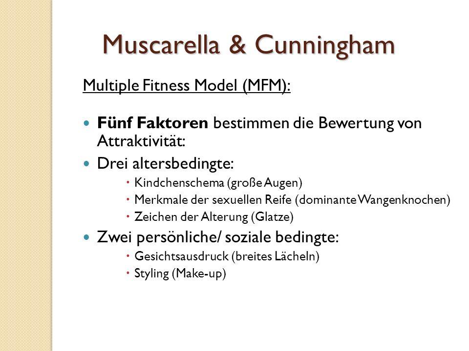 Muscarella & Cunningham(1995) 102 männliche Vpn,102 weibliche Vpn.