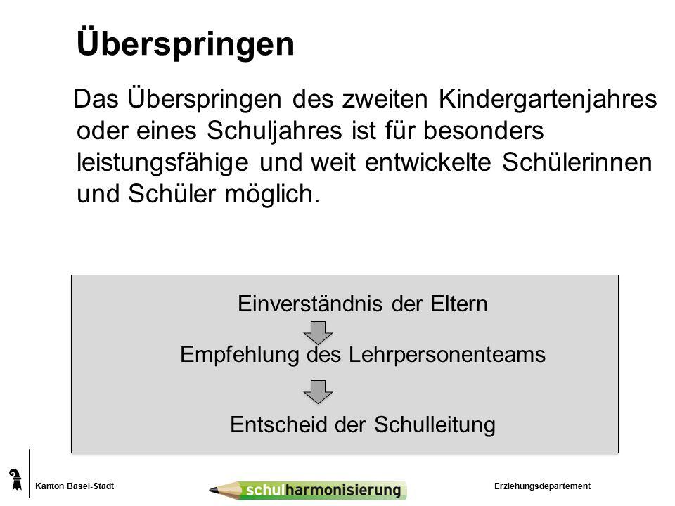 Kanton Basel-Stadt Individuelle Lernziele (iLz)  iLz können in einem oder in mehreren Fächern festgelegt werden  Voraussetzung für iLz sind:  Schülerin oder Schüler erhält Förderangebote oder verstärkte Massnahmen.