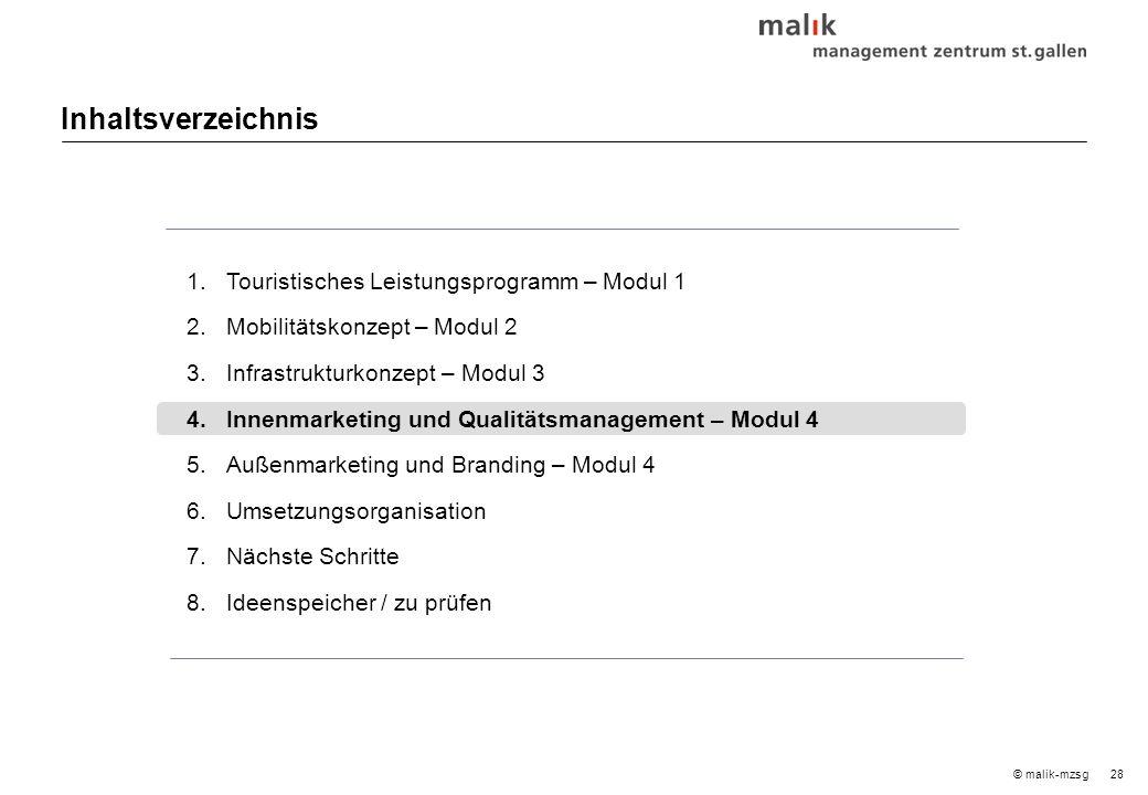 29© malik-mzsg Maßnahmen:WerBis Wann 1 Kommunikationsplan Es ist wichtig, dass über das Projekt regelmässig an die verschiedenen Kommunikationszielgruppen kommuniziert wird.