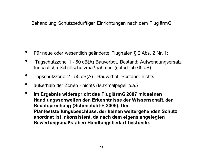 12 Ist Situation nach UNH, Hochheim, DES Real 2007, ohne Maßnahmen, AzB08 LAeq, 7.10.2010 (Fraport AG)