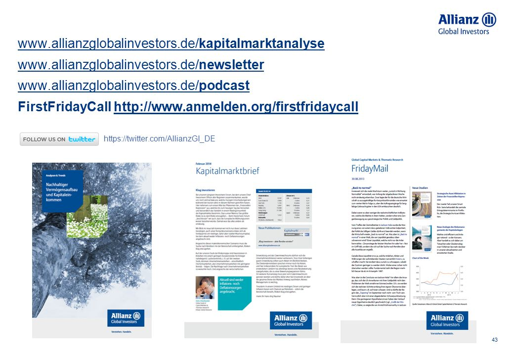 Disclaimer 44 Investments involve risk.