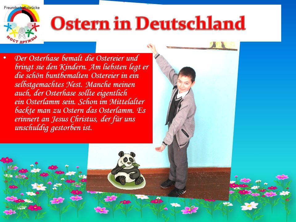 In manchen Orten um Potsdam war es der Kuckuck, und in Thüringen macht das der Storch.