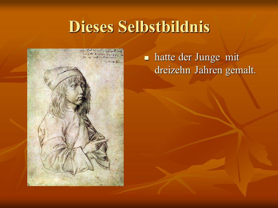 1486 (vierzehnhundertsechsundachtzig) begann Albrecht die Malereilehre bei Michael Wolgemut.