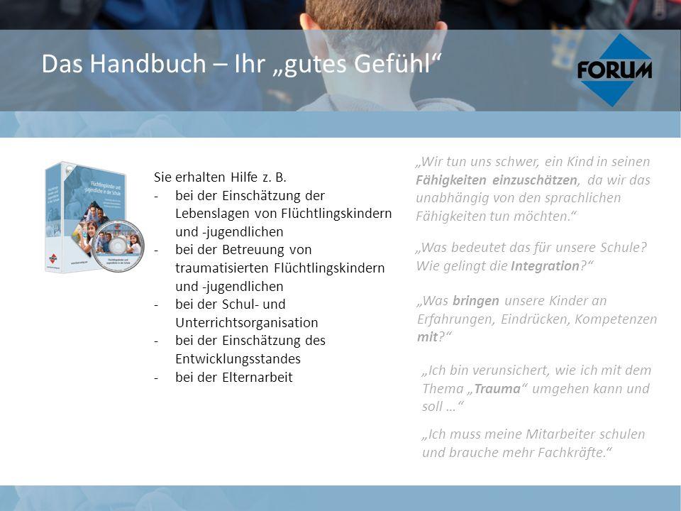 """Das Handbuch – Ihr """"gutes Gefühl"""