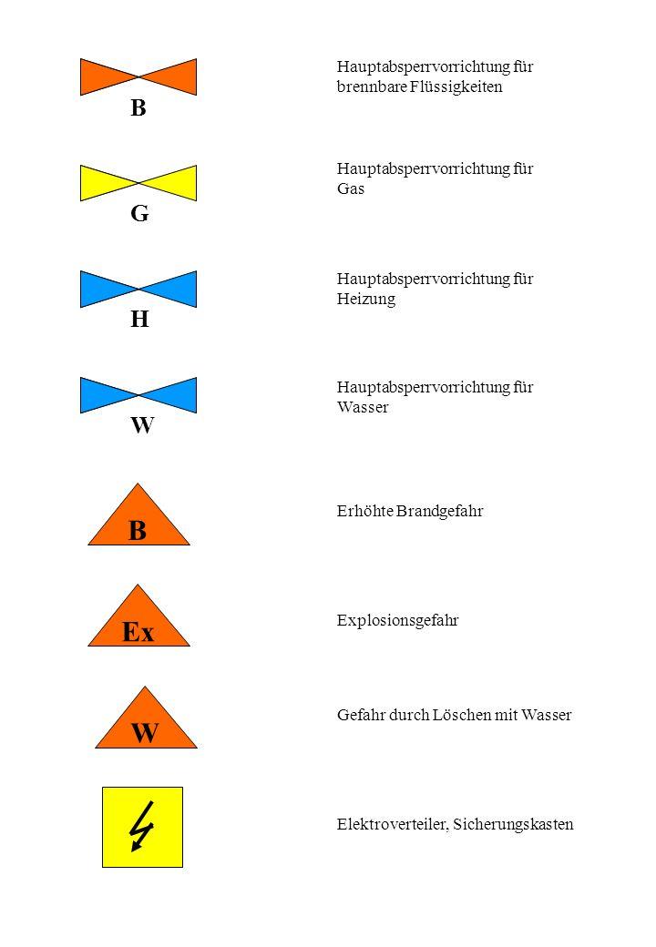 NA C HS G 1000 V umschlossen Notausgang oder Notausstieg NL: Notleiter Fluchtweg Gefahr durch umschlossene radioaktive Stoffe Gefahr durch Chemikalien Gefahr durch Gase Gefahr durch Elektrizität, Zusatz: Spannungsangabe Hauptschalter