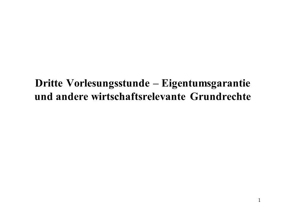 2 Kategorien grundrechtsrelevanter staatlicher Eingriffe Regelnde Eingriffe (sog.