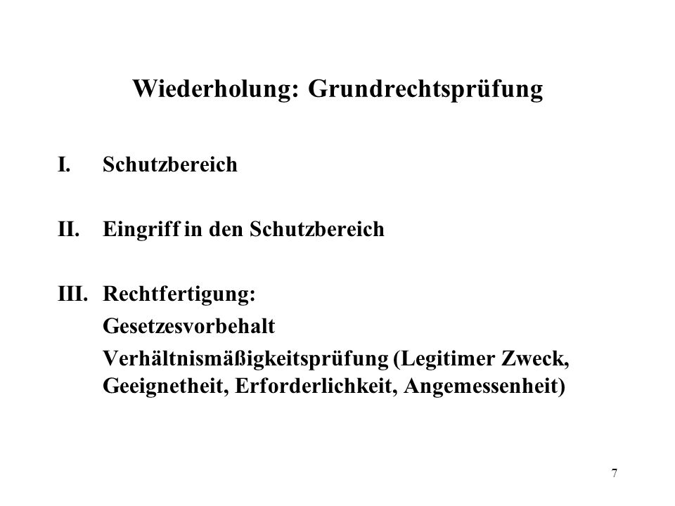 8 Eigentumsgarantie, Art.