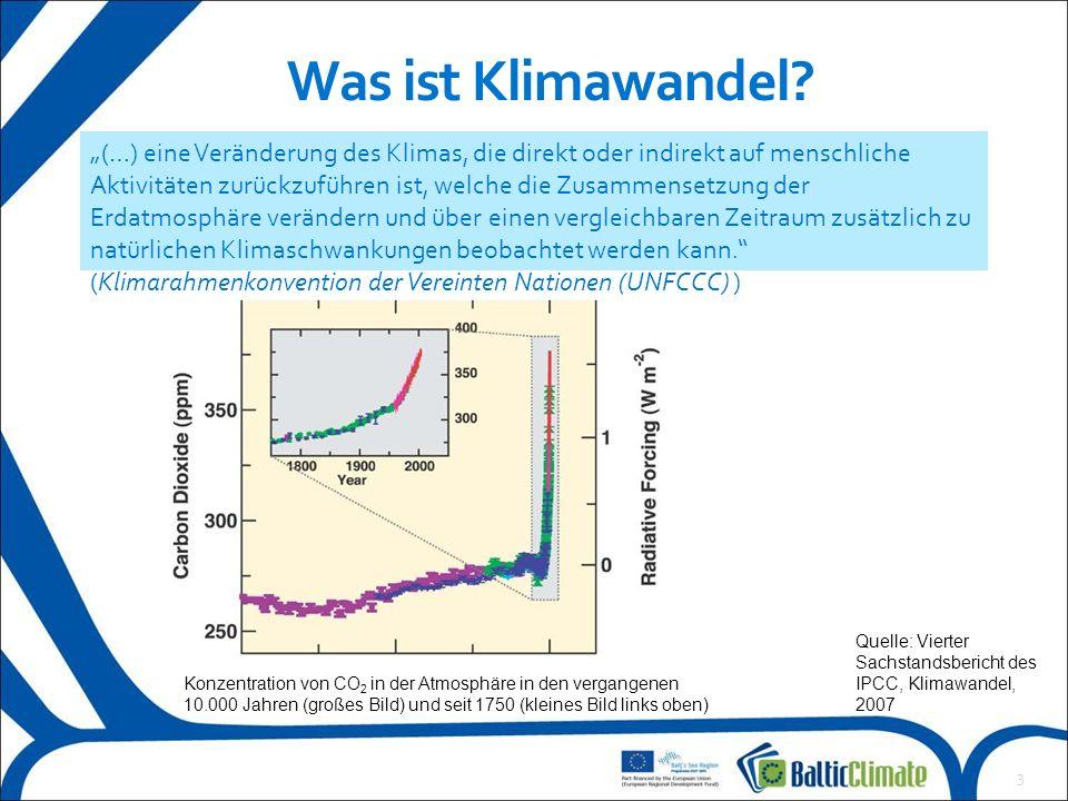 4  Klimamodelle werden zur Berechnung des zukünftigen Klimas und zur Erstellung von Klimaszenarien verwendet.