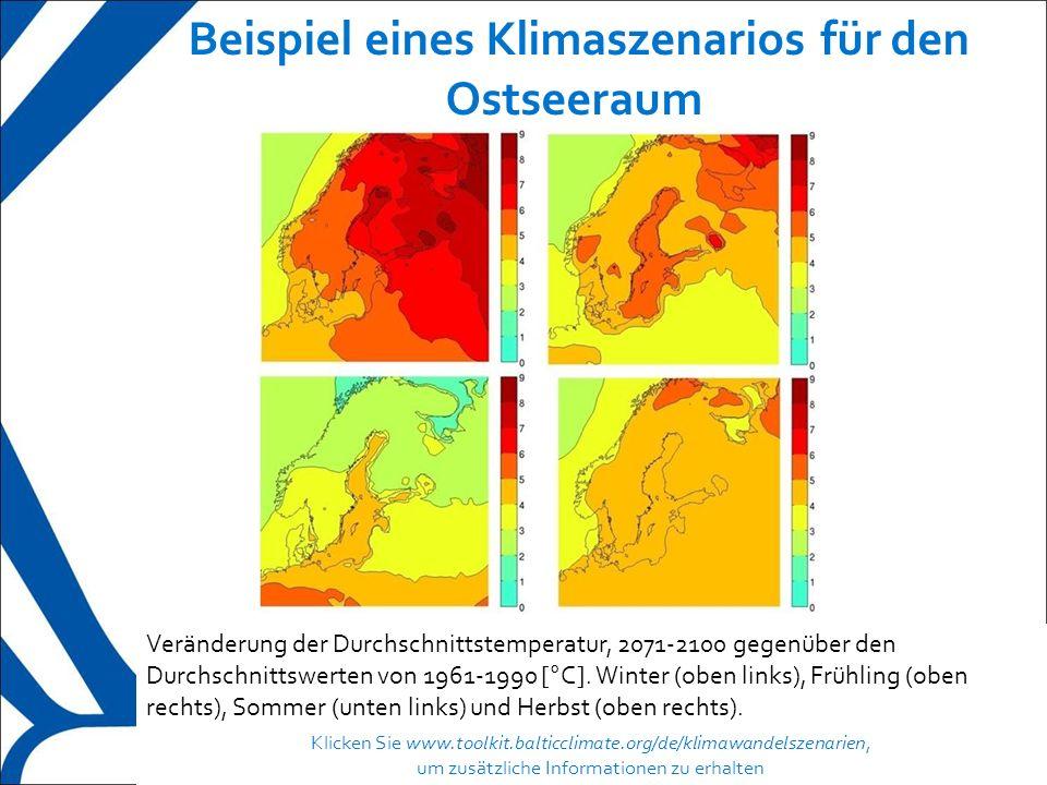 7 Klimaszenarien für bestimmte Regionen  In globalen Klimamodellen wird die Atmosphäre in ein dreidimensionales Gitter geteilt, das horizontal entlang der Erdoberfläche und vertikal nach oben in die Luft verläuft.