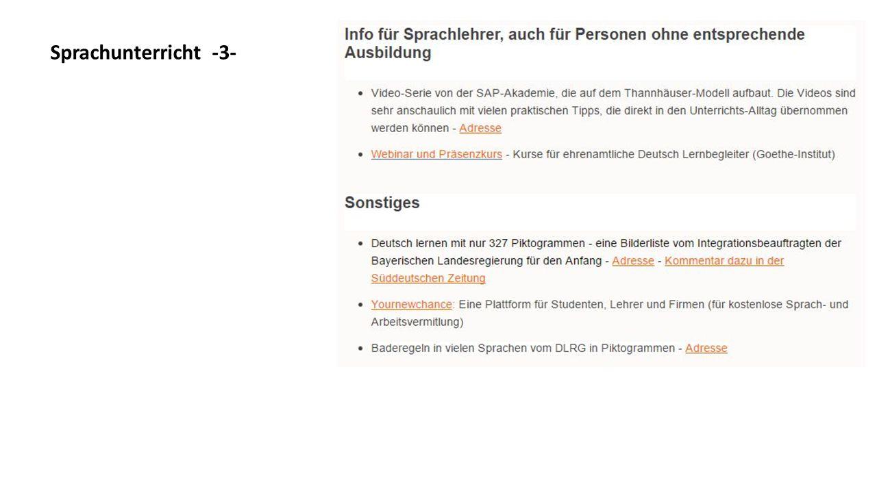 """Suchfunktion z.B. Suche nach """"Farsi"""