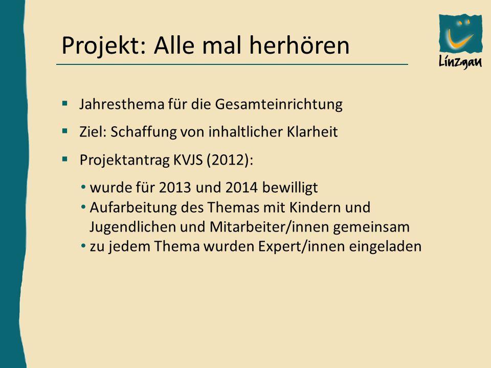 Hardy Frick, Bereichsleiter Außenstelle KN, h.frick@linzgau-kinder-jugendheim.de Die verschiedenen Schritte des Projektes 1.