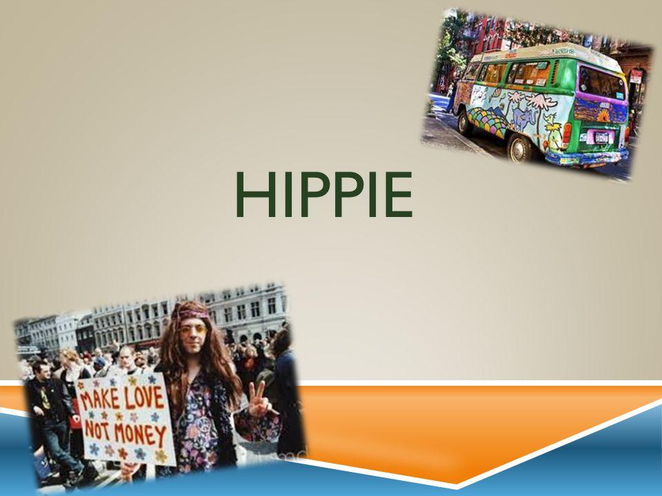 Hippie - Philosophie Subkultur, die ursprünglich entstanden in den 1960er Jahren in den USA.