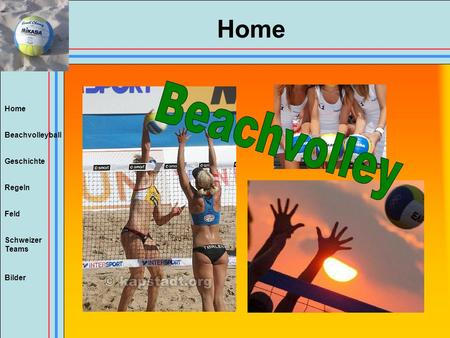 Home Beachvolley.