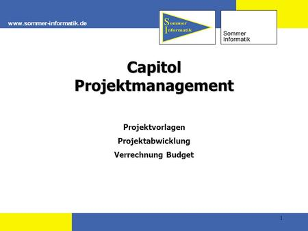 Capitol Projektmanagement
