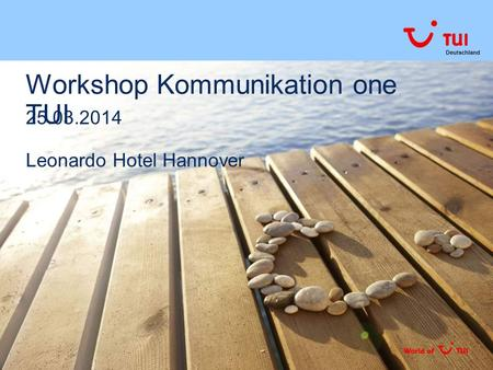 Workshop Kommunikation one TUI