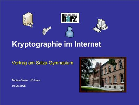 Kryptographie im Internet
