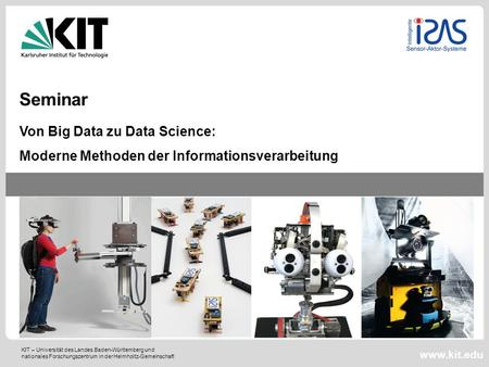 Seminar Von Big Data zu Data Science: