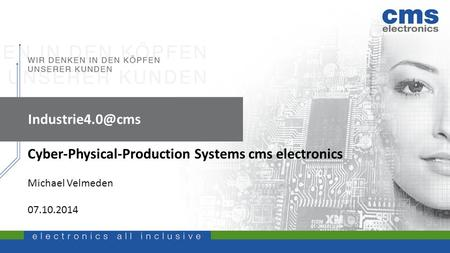 Cyber-Physical-Production Systems cms electronics